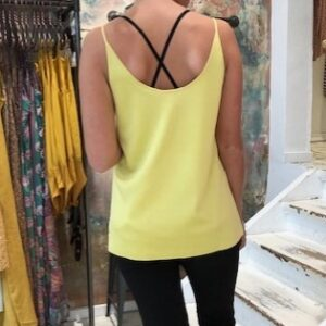 Maison Scotch Yellow Top