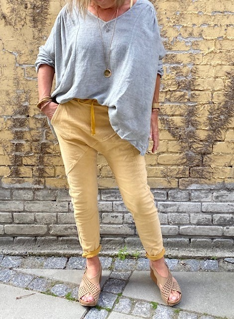 Piro by Klaus Berggreen Baggy Jeans Gul