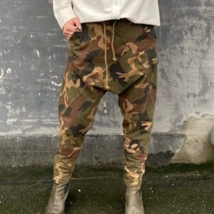 Cabana Living Camouflage Baggy Sweatpants Army/Sand