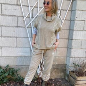 Humble InaHBS Roll Neck Sand