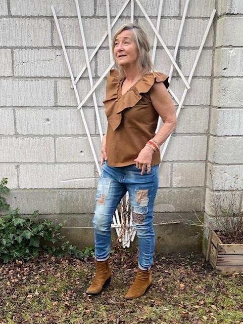 Cabana Living Rå Jeans M/Leo Lapper
