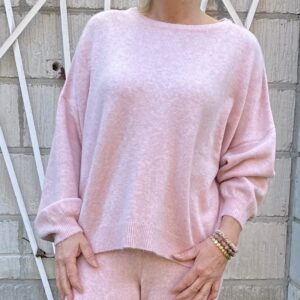 Cotton Candy Rina Sweatbluse Pink mel.