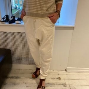 Cabana Living Baggy Sweatpants Off White Front