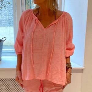Piro Bluse Pink Front
