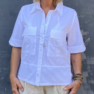 Humble Kelsey Skjorte Hvid Front