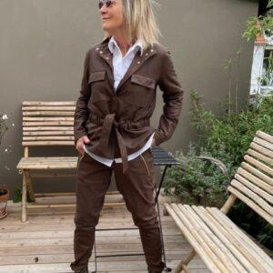 Depeche Jakke Tariff Brun Skind